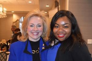 Dr. Debbie Phillips and Karen Hatcher